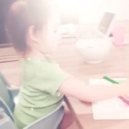 麻麻在家给我上课学习颜色(3)🌈❤