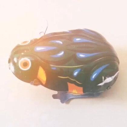 你还记得童年的玩伴吗?🐸铁皮跳跳蛙🐸