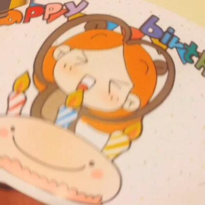 贺卡控的我〜新做的蛋糕贺卡〜