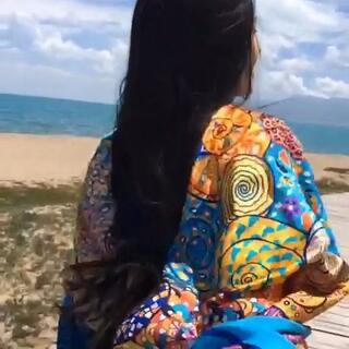 牵起我的手,奔向青海湖。#一起去私奔#