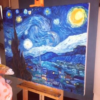 终于画完了,唱一首应景的《星月下》!😜#情歌王#