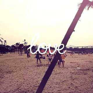#农大一门沙滩##最美沙滩#😉😝😘❤❤❤