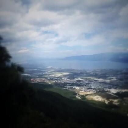 #大理##海拔三千多米的苍山索道,下面是洱海