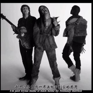 "Rihanna强势新单中英字幕超清MV首播。离开众人实现已久的Rihanna终于携新作回归了。歌曲请来了侃爷Kanye West和披头士成员Paul McCartney,MV是一反常态的黑白极简风格。歌词讲述了两个受伤的人的心理斗争。(关注微博:蒋先森的昵称 私信回复""45""获取完整版) #音乐##蒋先森的音乐分享#"