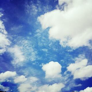 【蓝天白云】你在哪儿?#天空#