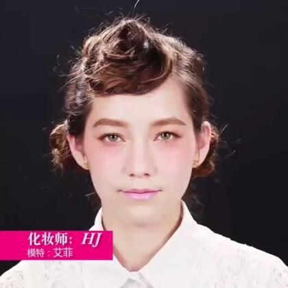 日系花朵妆