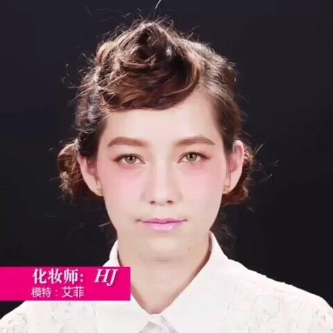 【快美妆小Q美拍】日系花朵妆