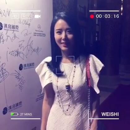 #中国国际时装周# 开幕式 我和好朋友 有瘾品牌设计师韩东阳