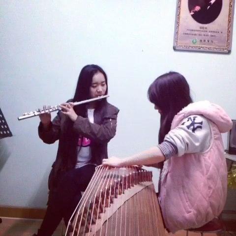 时间煮雨(1)> 93长笛古筝合奏版