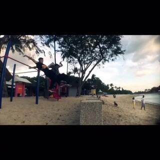#跑酷环球旅行#特别篇,中国跑酷力量参加新加坡国际跑酷聚会part 1
