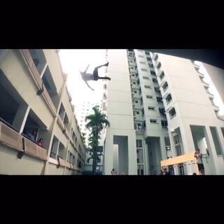 #跑酷环球旅行#特别篇,中国跑酷力量参加新加坡国际跑酷聚会part 2