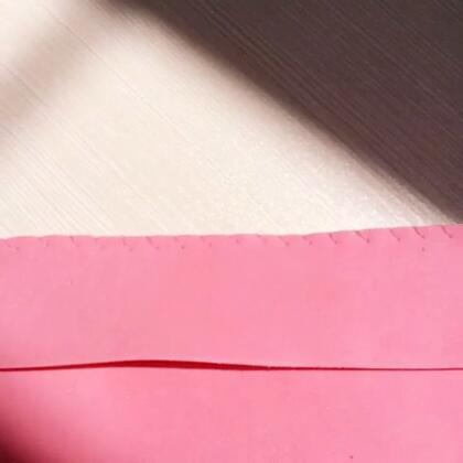 海棉纸笔袋,好看又好用,快点开!#diy##60秒美拍#