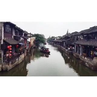 #在路上#在清晨阳光里仰望、#带着美拍去西塘#