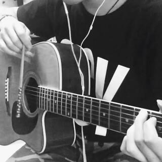 网上看到的新技能:用筷子弹吉他。张震岳《再见》#用筷子弹吉他##唱歌#