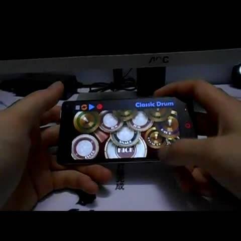 李白 李荣浩 手机架子鼓版 软件名 Classic Dr 音乐视频 ZeqingWu的美拍