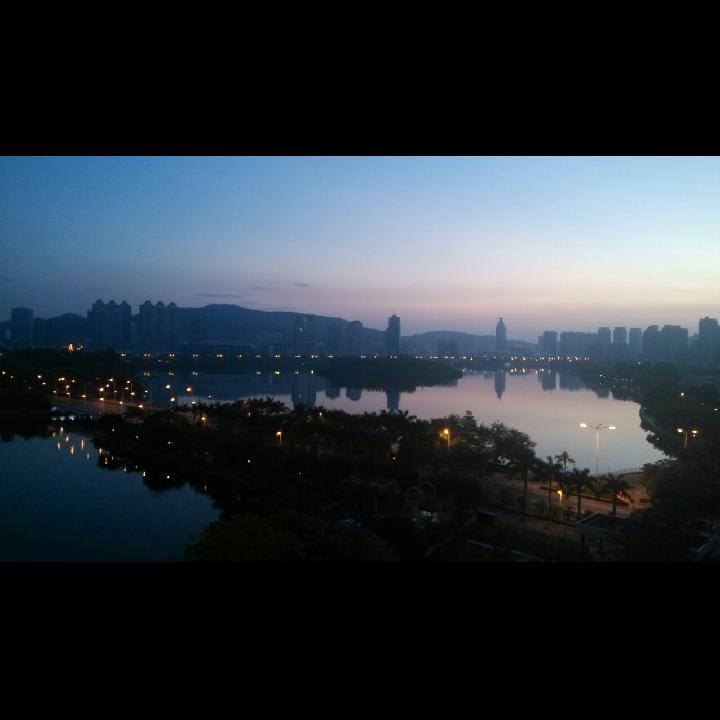 过年的早上风景图片