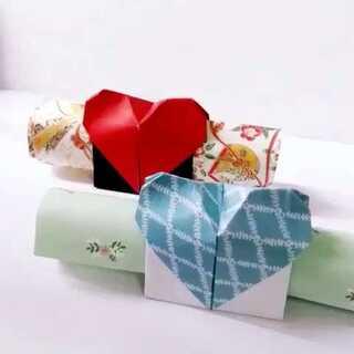 #diy手工折纸#【爱心信套】爱情,究竟是什么#涨姿势#