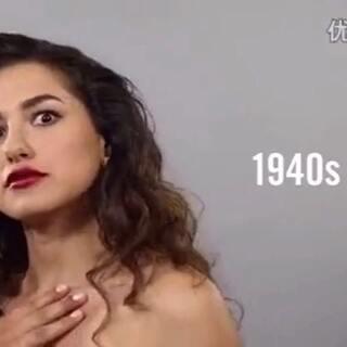 墨西哥女性100年妆容