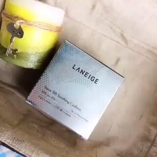 #晒出最爱的底妆产品#达人海豚molly最爱兰芝气垫BB霜,可以快速打造自然裸妆,携带方便,省去了防晒隔离等产品,而且持久不脱妆!