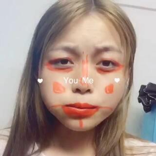#没有镜子挑战赛#嘴巴里的寿司😂