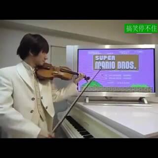 #涨姿势##创意#小提琴还可以这么玩,请收下我的膝盖!💘💘