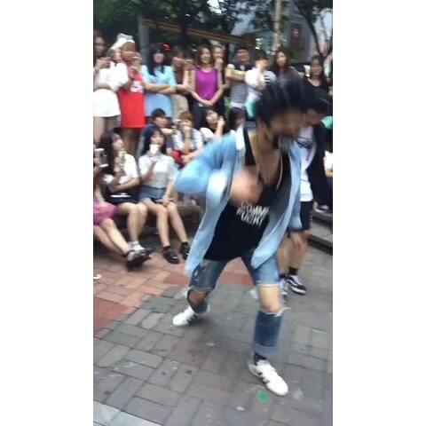 dob朴镇 跳exo的咆哮 舞蹈视频 onlyParkJin的美拍
