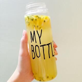#我最爱的饮料#蜂蜜柠檬百香果汁