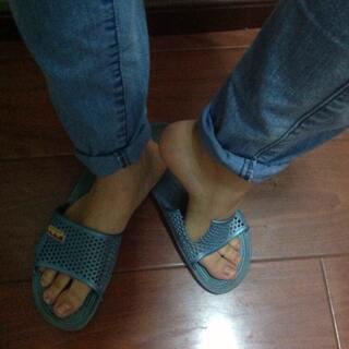 #拖鞋PK赛#哈哈哈哈