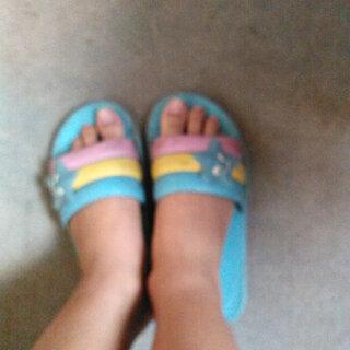#拖鞋pk赛#我的拖鞋
