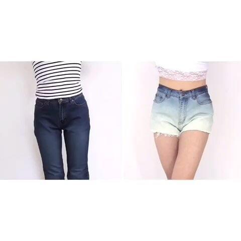 牛仔裤DIY