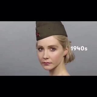 【百年之美俄罗斯】 俄罗斯妹子近100年来妆容的变化,我只想说,美的不要不要的。😌😌😌话说80年代永远是一个让人无法理解的年代。😒😒😒 #美女##女神##外国人的日常##化妆##我要上热门##求上一次热门#@美拍小助手