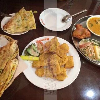 #晒晒你喜欢的异国美食#印度料理😊味道不错☺️@快乐小怪