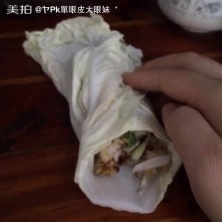 #U乐国际娱乐吃饭##食堂黑暗料理争霸赛#东北饭包好久没吃啦!好香