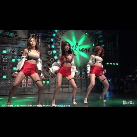 【Waveya舞团美拍】这群女妖火了...... 看着这么性...