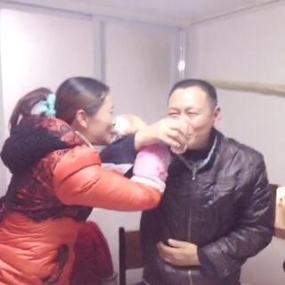 爸比生日快乐😊愿健康快乐每一天。😘#xinfu幸福一家#