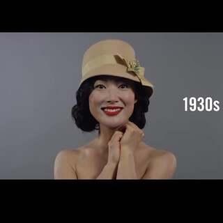 韩国100年妆容和发型演变,说实话哪个时期都不喜欢呢哈哈#美妆时尚##热门#