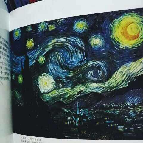 周末 梵高 星空 向日葵 梵高的几幅有名的画,你们都 Sunshine msq的美拍
