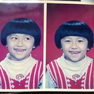 #小时候最丑照##晒出你最丑的几个表情##不堪回首童年照#