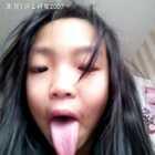 #舌头舔鼻子#