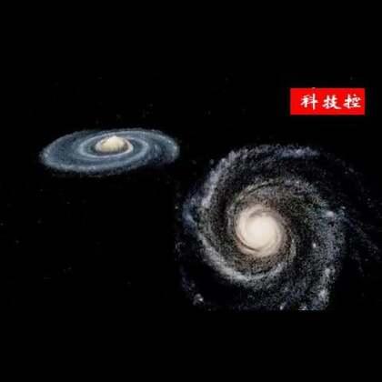 #涨姿势#计算机模拟30亿年后银河系与仙女星系的碰撞过程!音乐燃爆了!#音乐##我要上热门#