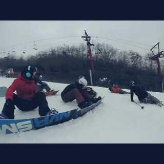 #单板滑雪#