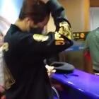 #UNIQ王一搏#151225北京机场送机,撩头发不要更帅,好好照顾自己,圣诞节快乐~