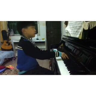 试弹 肖邦(B小调圆舞曲)#音乐##小小钢琴家##肖邦#