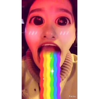 #全民吐彩虹#