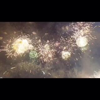 #一起拍烟火#2016.1.1 平壤金日成广场烟火