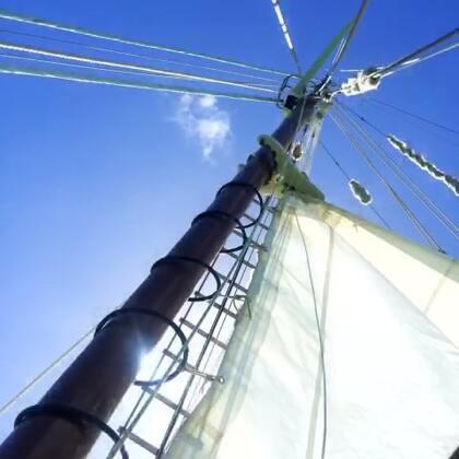 #旅行##圣灵群岛#体验路飞的一天-双桅帆船出海⛵⛵海上风浪太大 晕船药压根不起作用 现在依旧觉得地球在摇晃 但古老的木船、大家齐心拉起的船帆、船员精心准备的早茶午餐下午茶和水果、各种形状颜色的珊瑚和鱼群以及浮潜时意外看到的海龟……都弥补了没能去外堡礁浮潜的遗憾