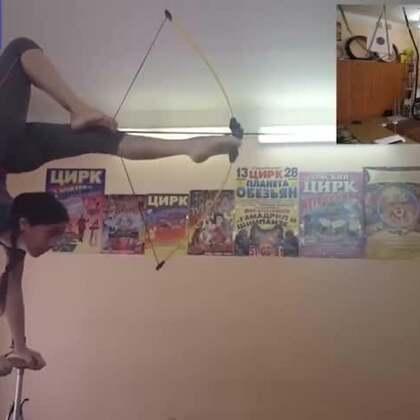 19岁俄罗斯女孩Anna Belysh #倒立射箭##战斗民族##外国人的日常#