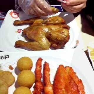 #美食篇##宵夜时光##pk香喷喷的小烤鸡#