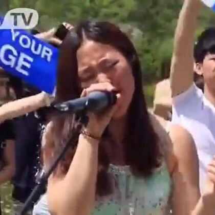 #音乐##5分钟美拍##随手美拍#美女大学生学校翻唱 《喜欢你》声音萌哭了。!