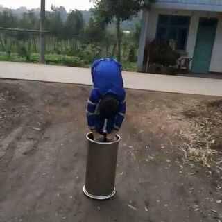 #芥末挑战#鉆圆桶希望支持#涨姿势#